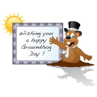 Groundhog cartoon