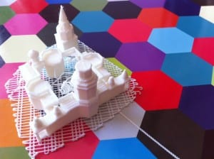 3d printing colordul cathedral