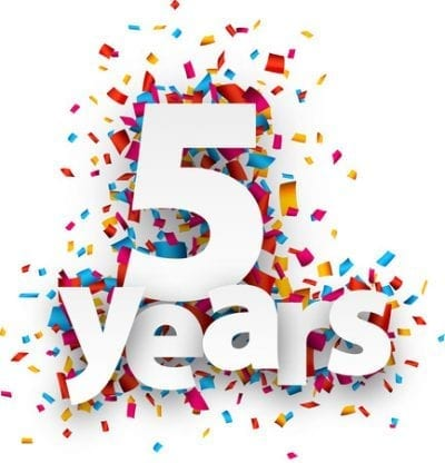 Celebrating 5 Years in Philly